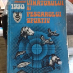 ALMANAHUL VANATORULUI SI PESCARULUI SPORTIV 1990