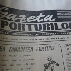 Ziarul Sportul (6 iulie 1990)