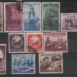 1953,Romania- Stampilate,Lot serii complete, Stampilat