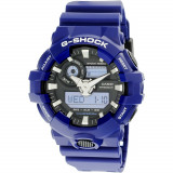 Ceas barbatesc Casio G Shock albastru Resin Japanese Quartz GA700-2A