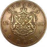 ROMANIA, 2 BANI 1900 * cod 67.8.18, Cupru (arama)