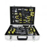 Trusa chei JBM 53158, crom vanadium, valiza aluminiu, Cr-V, 108 piese