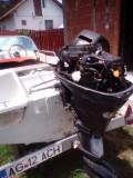 Vand barca Salupa Italia 420 + motor 20 CP + peridoc