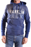 Pulover barbati Franklin & Marshall 101909 blue, S, Franklin & Marshall