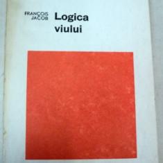 LOGICA VIULUI,ESEU DESPRE EREDITATE-FRANCOIS JACOB,BUCURESTI 1972