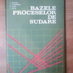 BAZELE PROCESELOR DE SUDARE DE V. MICLOSI , M. JORA , L. MILOS ...