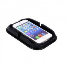 Suport anti alunecare telefon, accesorii, Sal SA 058, negru