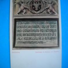 HOPCT 182 LA INSCRIPTIA LA BISERICA SF DIMITRIE -SUCEAVA 1906-NECIRCULATA, Printata
