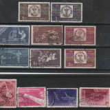 1958,Romania- Stampilate,Lot serii complete, Stampilat