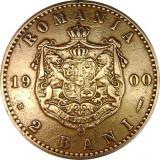ROMANIA, 2 BANI 1900 * cod 87.8.18, Cupru (arama)