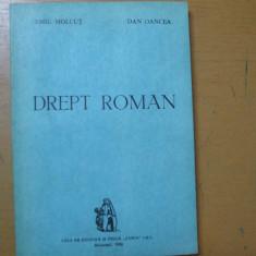 Drept roman Emil Molcut Dan Oancea Bucuresti 1993