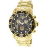 Ceas barbatesc Invicta Pro Diver auriu Stainless-Steel Japanese Chronograph 19837