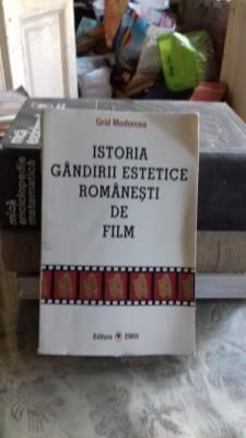 ISTORIA GANDIRII ESTETICE ROMANESTI DE FILM - GRID MODORCEA foto
