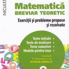 Matematica cls 8 Breviar teoretic ed.2016 - Petre Simion, Victor Nicolae, Clasa 8