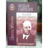 DIN TAINELE LITERATURII ROMANESTI , NICOLAE CARTOJAN