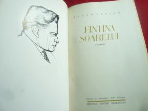 Eugen Frunza - Fantana Soarelui - Prima Ed. 1962 ,cartonata ,ilustratii