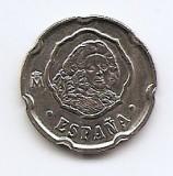 Spania 50 Pesetas 1996 - Commemorative: Felipe V, 20.5 mm KM-963, Europa