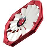Ventilator pentru carcasa RAIJINTEK Aeolus Alpha Red/White 140mm