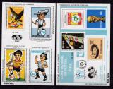 Bolivia 1980  sport  fotbal  MI  bl.98 + 99   MNH  w52 Michel=100, Nestampilat