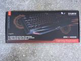 Tastatura luminoasa gaming ZALMAN + cadou mouse