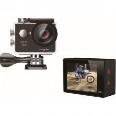Camera video sport Full HD Lumi 7000, cu Wi-Fi Ultra Whide 170 rezistenta la apa, Card de memorie