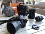 Nikon D3300 cu obiective 18-55 kit si 50 f/1.8G prime