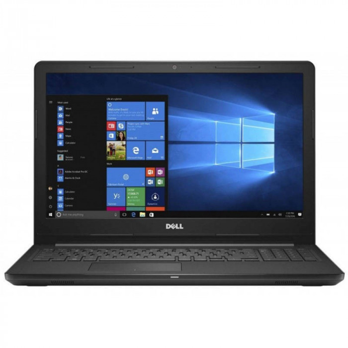 Laptop Dell Inspiron 3576 15.6 inch FHD Intel Core i7-8550U 8GB DDR4 256GB SSD AMD Radeon 520 2GB Windows 10 Home Black 1Yr CIS