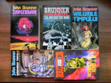 Lot 5 carti John Brunner Zanzibar  Orasul ca un joc de sah  Victimele Novei, John Brunner