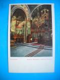 HOPCT  183 C  INTERIORUL BISERICII MIRAUTILOR  -SUCEAVA 1906-NECIRCULATA, Printata