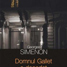 Domnul Gallet a decedat (eBook)
