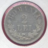 Romania - 2 lei 1876, stare buna, piesa de colectie!