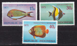 Indonezia  1971  fauna  marina  MI  698-700  MNH w52