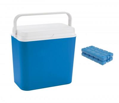 Lada frigorifica cu maner capacitate 24L cu 2 pastile racire incluse foto
