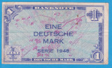 (1) BANCNOTA GERMANIA - 1 MARK 1948, MAI RARA
