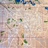 Harta  Bucuresti   anii   60
