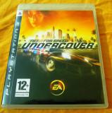 Joc Need for Speed Undercover, NFS, original, PS3! Alte sute de jocuri!, Curse auto-moto, 3+, Single player, Ea Games