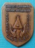 CHIMIE  SANITARA -  IGIENA MEDIULUI - COVASNA  1987  - Medalie RARA