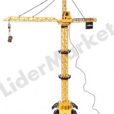 Macara de jucarie cu telecomanda Tower Crane XM-8054E - 1.3 metri