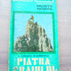 MSHAR - 1 - COLECTIA MUNTII NOSTRI - NR 9 - PIATRA CRAIULUI - 1975