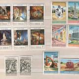 1978 Romania-STAMPILATE,serii complete, Stampilat