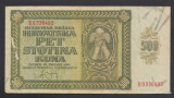 A2433 Croatia 500 kuna 1941