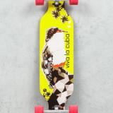 Skateboard - Longboard -  Viva La Cuba/Silver/Red 35'', Cruiser