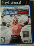 vand joc playstation 2 , ps2 ,  SMACK DOWN vs RAW 2007 , WRESTLING