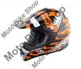 MBS Casca motocross Madhead X4B, negru/alb/portocaliu, XL, Cod Produs: 21587605LO