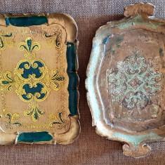Tava pictat manual tavi  antichitati cadou