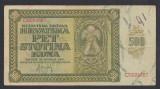 A2434 Croatia 500 kuna 1941