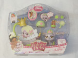 Disney Princess Palace Pets Beauty & Bliss Playset Tiana Kitty Lily sigilata
