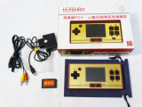 Consola portabila FC Pocket cu jocuri Nintendo NES si Sega cu ecran color TV out