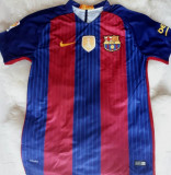 TRICOURI  ADULTI  FOTBAL -BARCELONA- MESSI, MODEL NOU , LIVRARE GRATUITA, L, XL, Maneca scurta