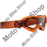 MBS Ochelari copii motocross Moose Racing Qualifier Slash, portocaliu/negru, Cod Produs: 26012128PE
